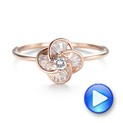 Diamond Engagement Ring - Interactive Video - 103675 - Thumbnail