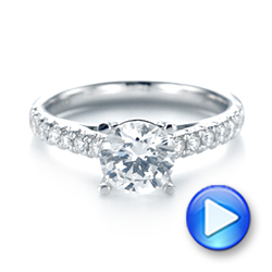 Diamond Engagement Ring - Interactive Video - 103682 - Thumbnail