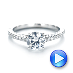 Diamond Engagement Ring - Interactive Video - 103713 - Thumbnail
