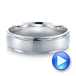Men's Wedding Ring - Video -  103783 - Thumbnail