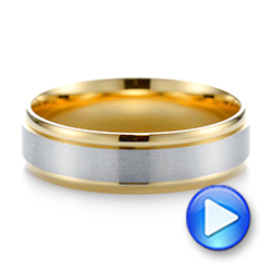 Men's Wedding Ring - Interactive Video - 103790 - Thumbnail