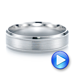 Men's Wedding Ring - Video -  103791 - Thumbnail