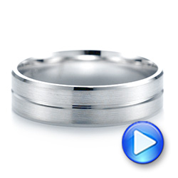 Men's Wedding Ring - Interactive Video - 103797 - Thumbnail