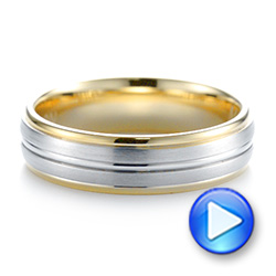Men's Wedding Ring - Video -  103802 - Thumbnail