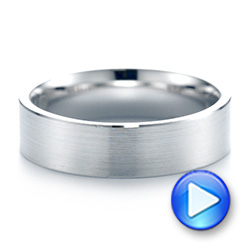 Men's Wedding Ring - Video -  103807 - Thumbnail