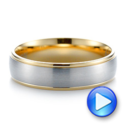 Men's Wedding Ring - Interactive Video - 103811 - Thumbnail