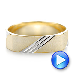 Men's Wedding Ring - Interactive Video - 103812 - Thumbnail