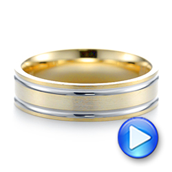 Men's Wedding Ring - Video -  103814 - Thumbnail