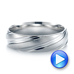 Men's Wedding Ring - Video -  103815 - Thumbnail