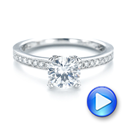 Diamond Engagement Ring - Interactive Video - 103832 - Thumbnail
