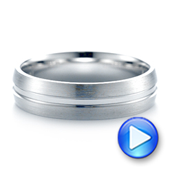 Men's Wedding Ring - Interactive Video - 103888 - Thumbnail