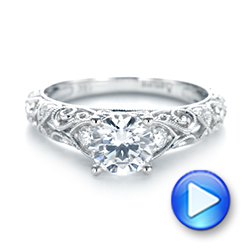 Diamond Engagement Ring - Interactive Video - 103901 - Thumbnail