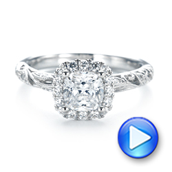 Diamond Engagement Ring - Interactive Video - 103908 - Thumbnail