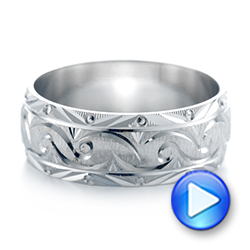 Men's Wedding Band - Interactive Video - 103951 - Thumbnail