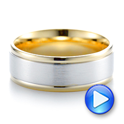 Men's Wedding Ring - Video -  103952 - Thumbnail