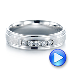 Men's Wedding Band - Video -  103973 - Thumbnail
