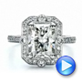 Custom Diamond Engagement Ring - Interactive Video - 100091 - Thumbnail