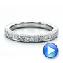 Diamond Channel Set Band with Matching Engagement Ring - Kirk Kara - Interactive Video - 100120 - Thumbnail